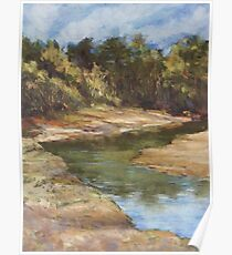 Lake Cathie - plein air Poster