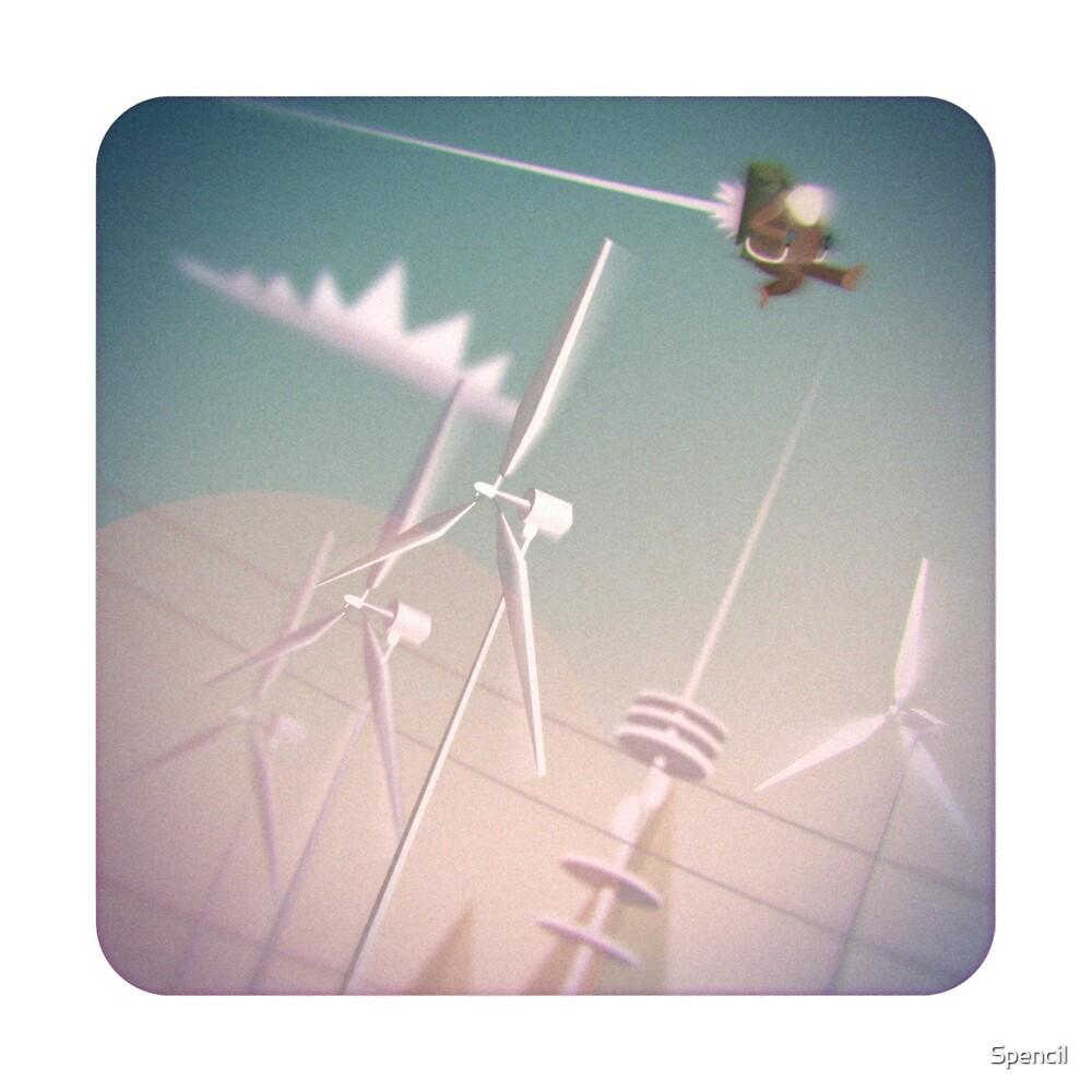 Turbines by Spencil