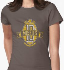 Misfits 10th Anniversary Womens Fitted T-Shirt