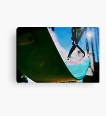 Lomo Swinging Under the Blues Canvas Print