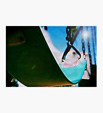 Lomo Swinging Under the Blues Photographic Print