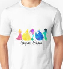Princess Squad Goals Inspired Silhouette T-Shirt