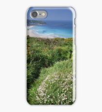 Whitesand Bay From Carn Towan iPhone Case/Skin