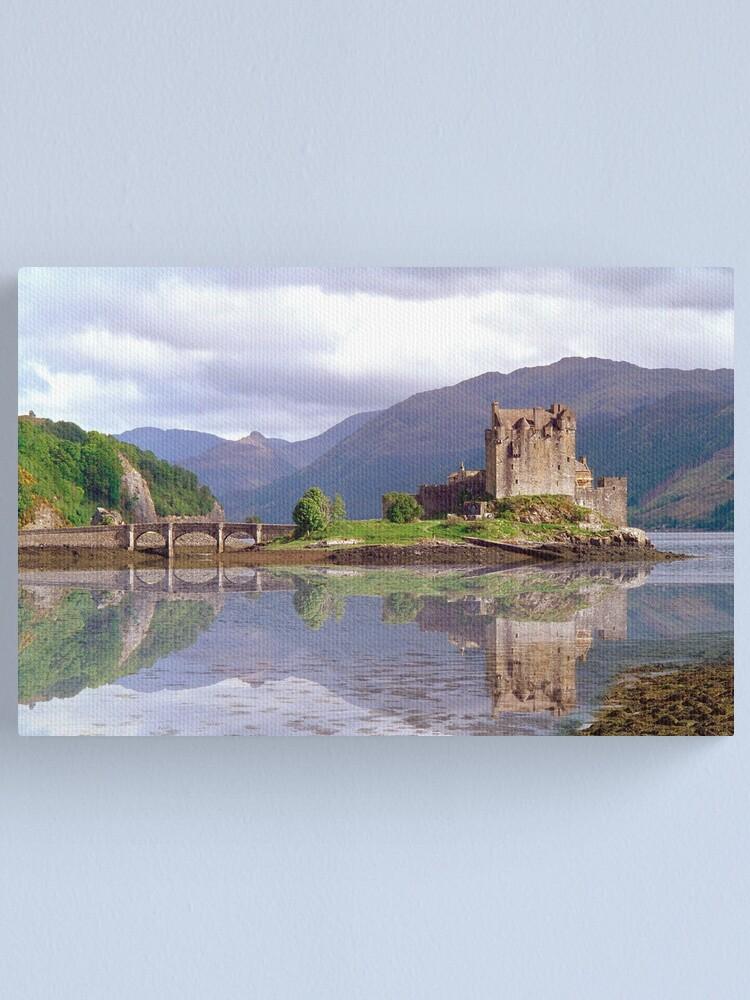 Alternate view of Eilean Donan Castle 37 Canvas Print