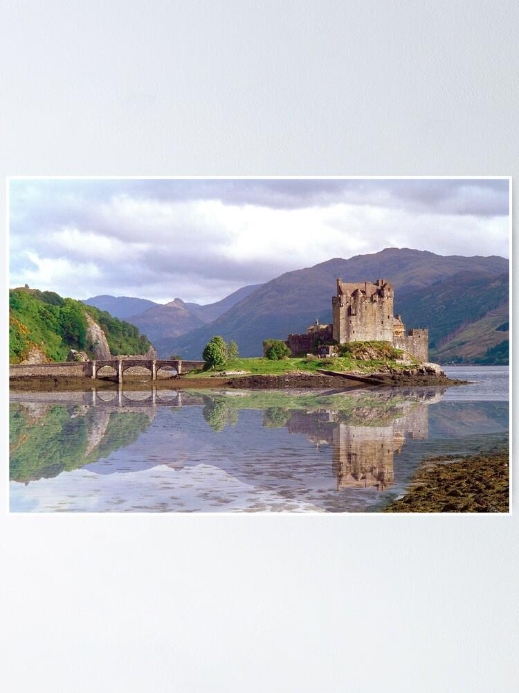 Alternate view of Eilean Donan Castle 37 Poster