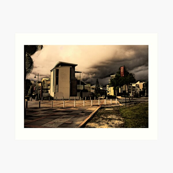 Urban Storm Art Print