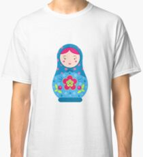 Matryoshka. Traditional russian nesting doll Classic T-Shirt