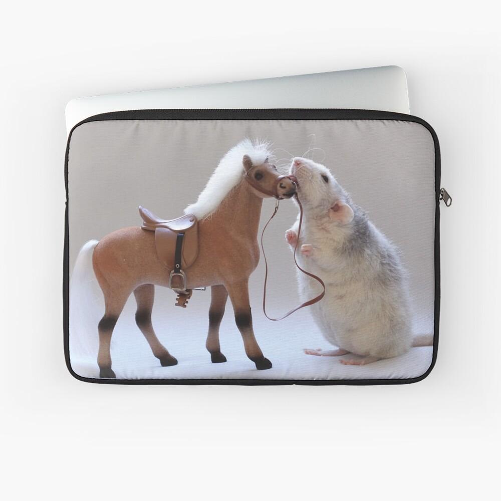 Ich liebe Pferde! Laptoptasche