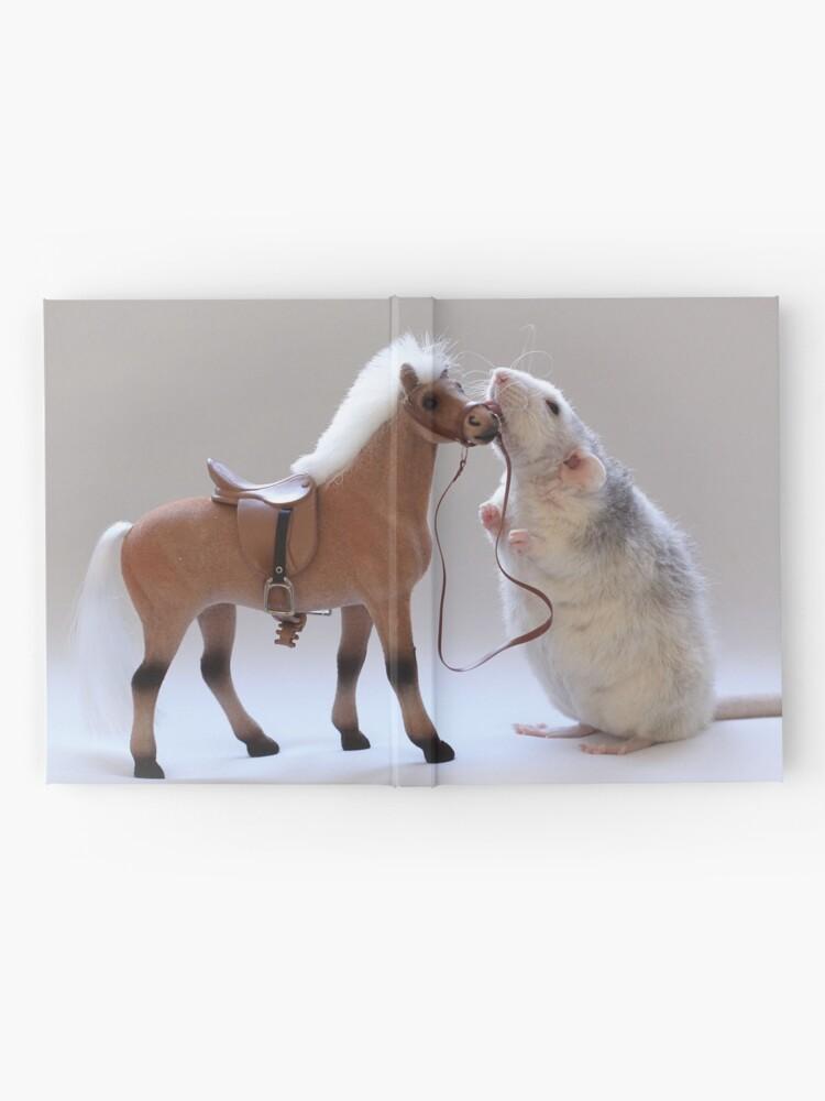 Alternative Ansicht von Ich liebe Pferde! Notizbuch