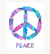 Peace! Photographic Print