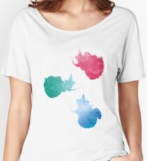 Fairies Inspired Silhouette Women's Relaxed Fit T-Shirt