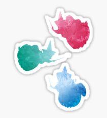 Fairies Inspired Silhouette Sticker