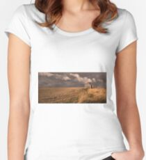 Field Women's Fitted Scoop T-Shirt