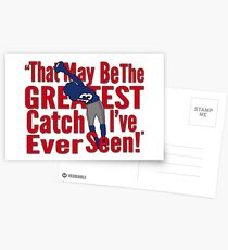 That May Be The Greatest Catch I've ever Seen Postcards