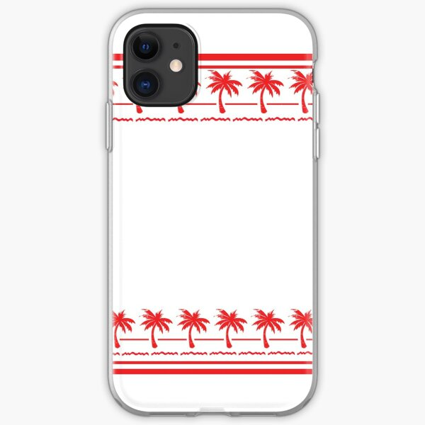West Coast California Burger Drive In n Out iPhone Soft Case