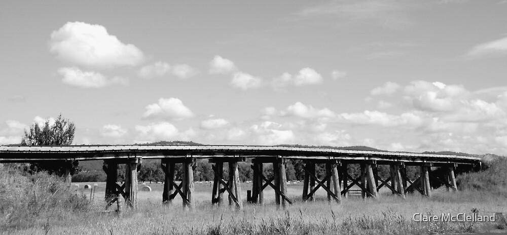 Trestle Bridge - Yarra Glen by Clare McClelland