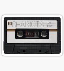Chariots of Fire Film Soundtrack Cassette Sticker