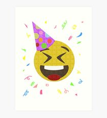 Emoji Wall Art happy birthday emoji: wall art | redbubble