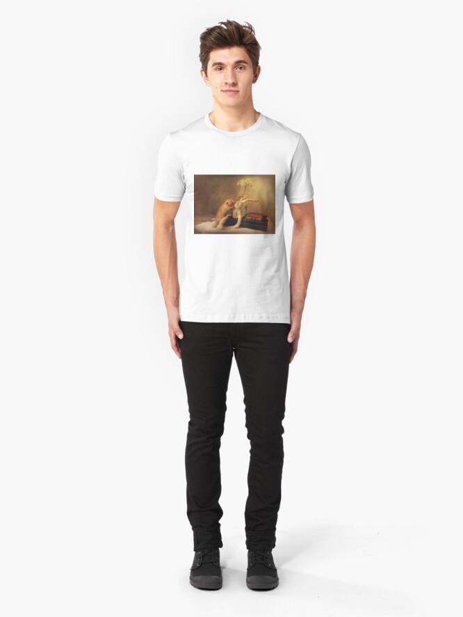 Alternate view of Poppy in still life Slim Fit T-Shirt