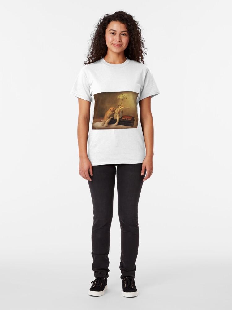 Alternate view of Poppy in still life Classic T-Shirt