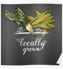 locally grown  Poster