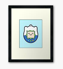 Tamago Chibi Finn Framed Print