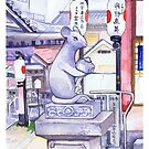 Okuninushi shrine mouse by Inverce