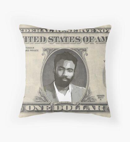 One Donald Bill Throw Pillow