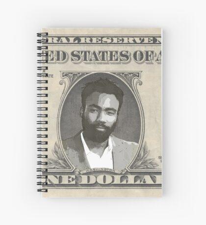 One Donald Bill Spiral Notebook