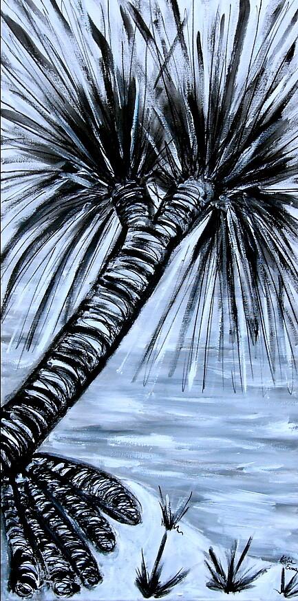 Pandanus Palms II by Kylie Blakemore