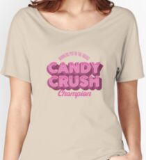 Candy Crush Champion Women's Relaxed Fit T-Shirt