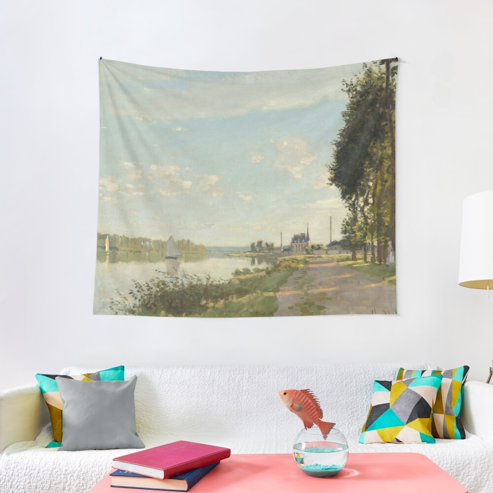 Argenteuil by Claude Monet Tapestry