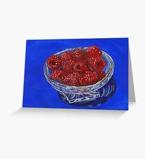 The Crystal Clear Choice For Snacking Greeting Card