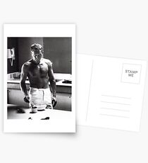 Steve McQueen Making Coffee  Postcards