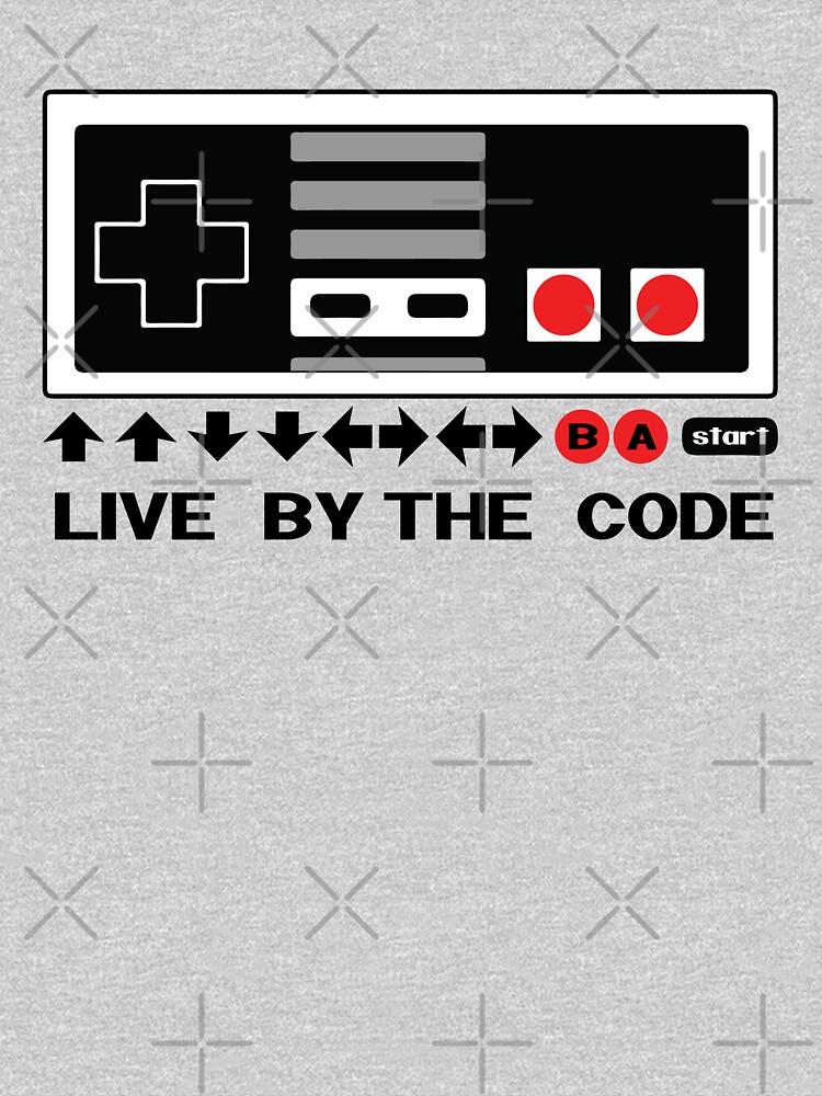 «Nintendo Konami - Live par le code (NES)» par mymainmandeebo