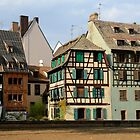 Old houses in Strasbourg by annalisa bianchetti