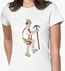 The Price is Right - Cliff Hanger Yodely Guy Women's Fitted T-Shirt