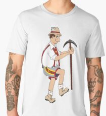 The Price is Right - Cliff Hanger Yodely Guy Men's Premium T-Shirt