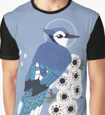 Familiar - Blue Jay Graphic T-Shirt
