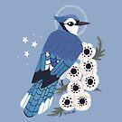 Familiar - Blue Jay by straungewunder