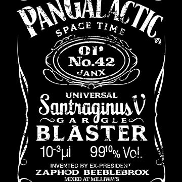 Pan Galactic Gargle Blaster - No. 42 [WHITE] by Malupali