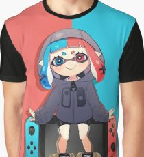 SPLATOON 2! SWITCH INKLING! Graphic T-Shirt