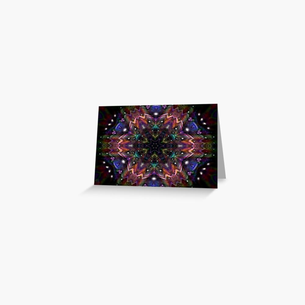 Kaleidoscope Water Series01 Greeting Card