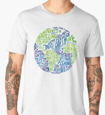 Protect Earth - Word Bubble Men's Premium T-Shirt