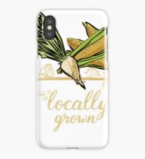 Locally Grown Vegetables iPhone Case/Skin