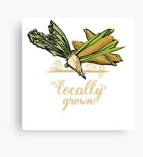 Locally Grown Vegetables Canvas Print