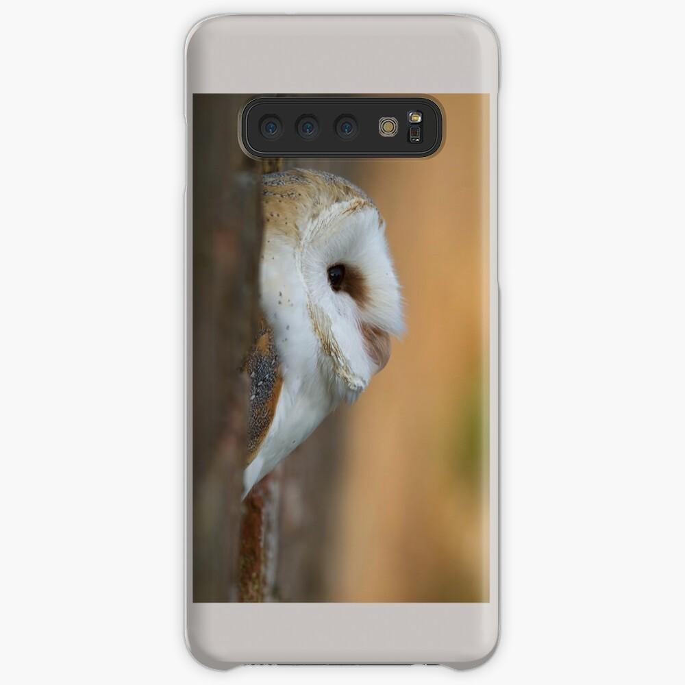 Barn Owl Triptych Samsung Galaxy Snap Case