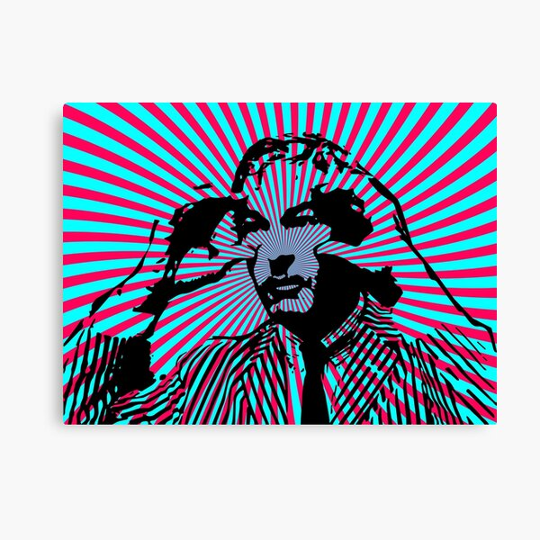 Timothy Leary- Open Your Eyes Canvas Print