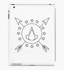 Assassins Creed 3 | Black and White Emblem iPad Case/Skin