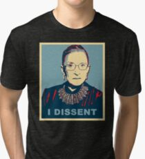 Notorious RBG I DISSENT Tri-blend T-Shirt
